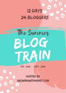 Blog train on Summer
