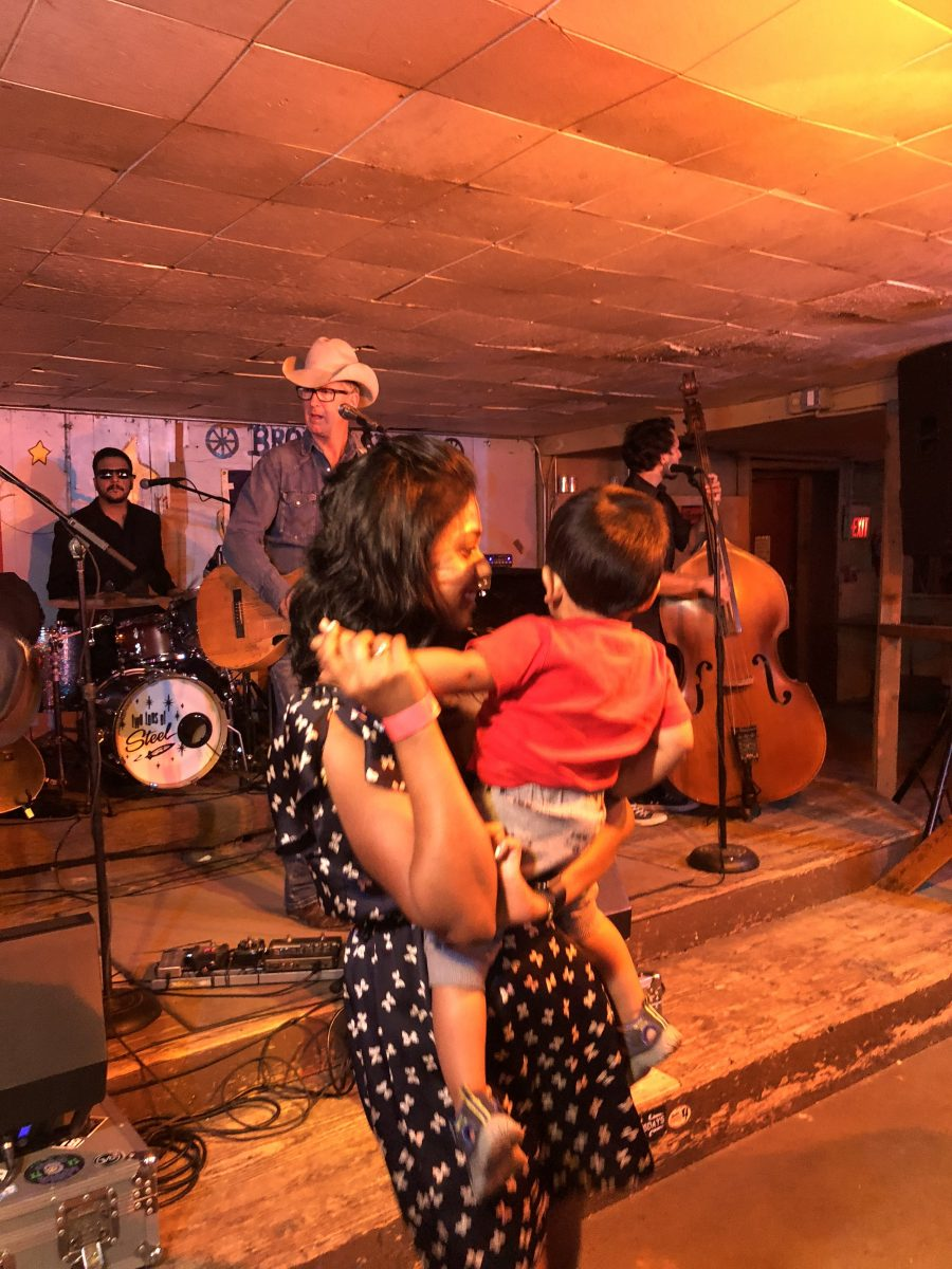 Honky Tonk at Broken Spoke during relaxed 2-day itinerary in Austin with kids