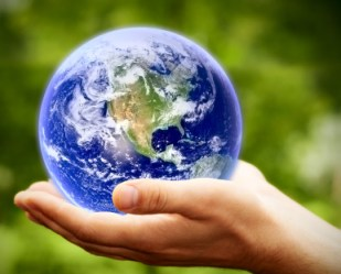 God holds the whole world in His hand