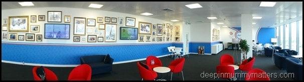 Nearest & Dearest Lounge Team GB