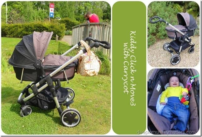 Kiddy Click n Move3 Carrycot