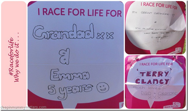 #Raceforlife
