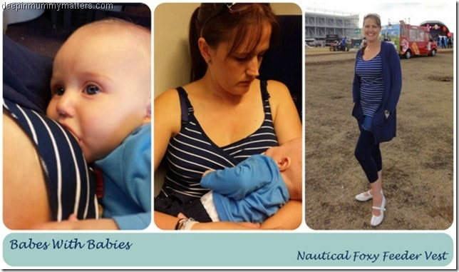 Breastfeeding vest