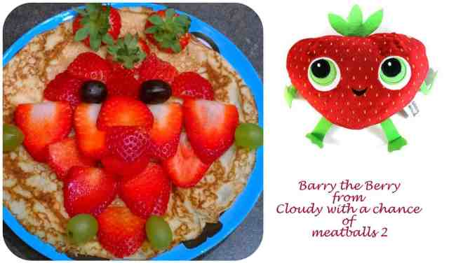 Barry the Berry Pancake
