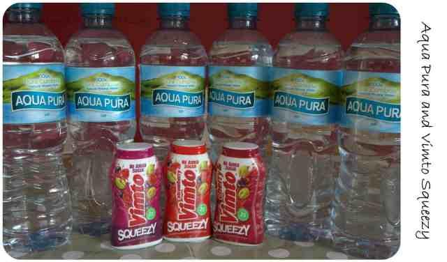 Aqua Pura Vimto Squeezy