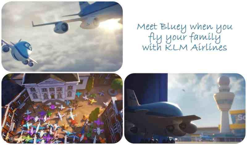 KLM Bluey