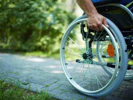 Wheelchair via Shutterstock