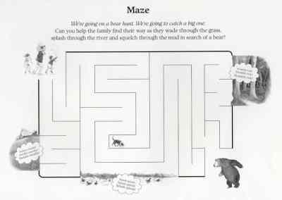 #BearHunt Maze
