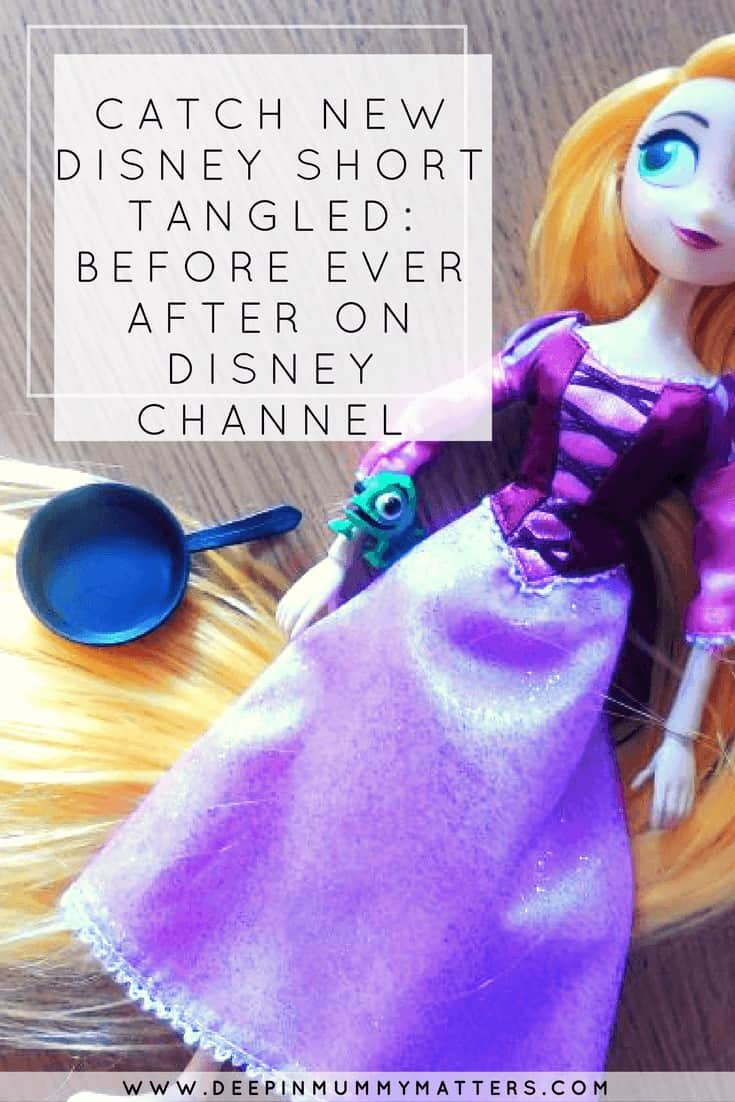 CATCH NEW DISNEY SHORT TANGLED: BEFORE EVER AFTER ON DISNEY CHANNEL