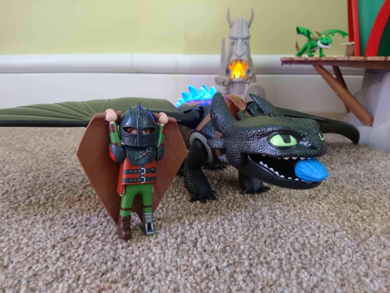 Playmobil Toothless
