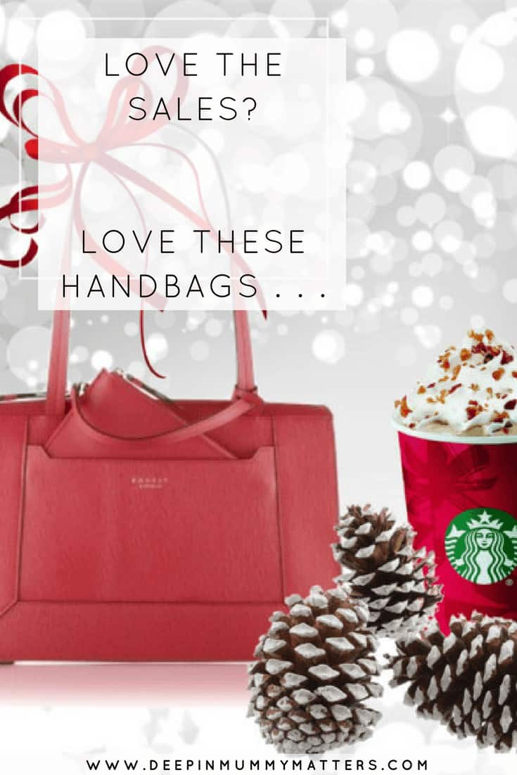 LOVE THE SALES? LOVE THESE HANDBAGS . . .