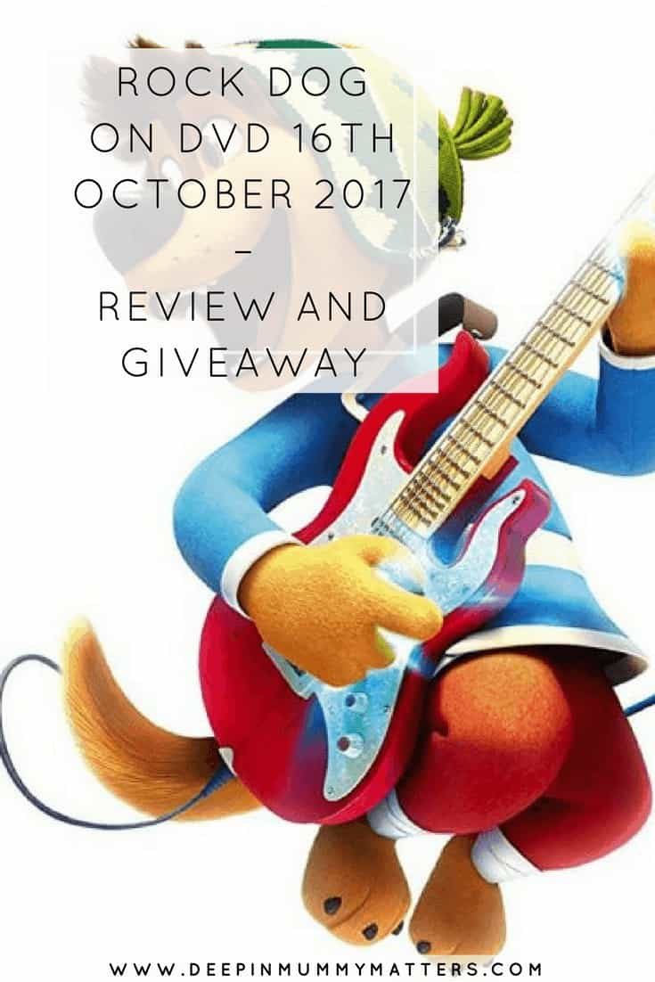 ROCK DOG ON DVD 16TH OCTOBER 2017 – REVIEW AND GIVEAWAY