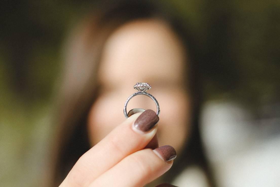 Memorial Diamond Ring
