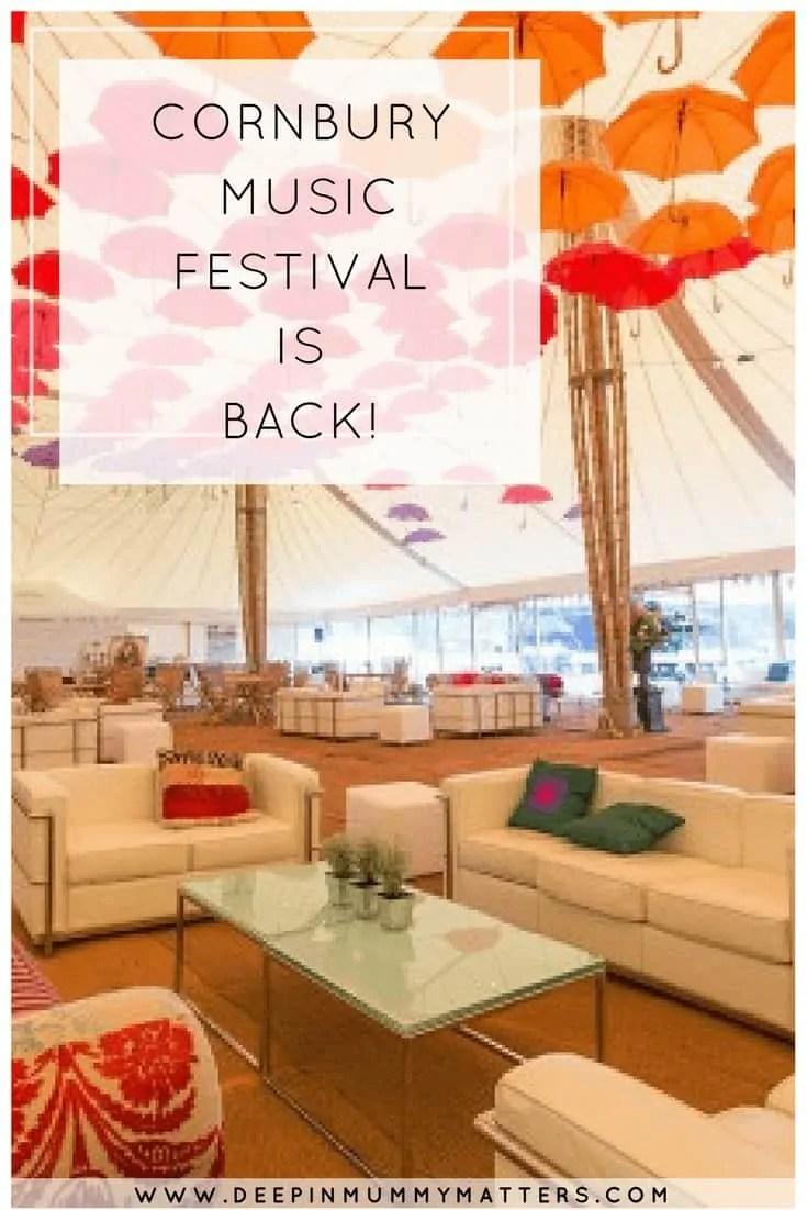 Cornbury Music Festival is BACK!