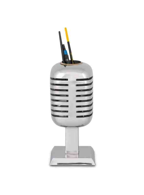 RADIO CITY MICROPHONE PENCIL HOLDER