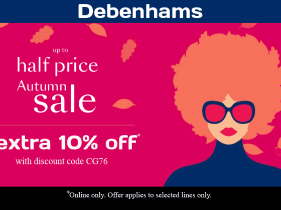 Debenhams Sale and Discount Code