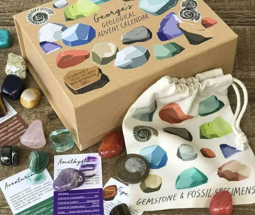 Gemstone Geological Advent Calendar