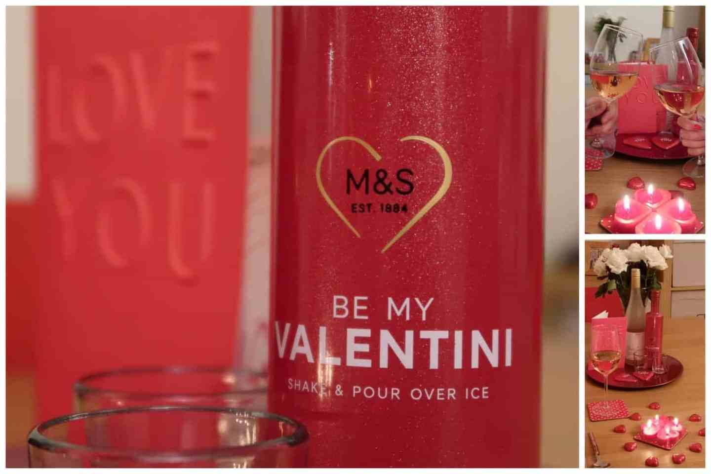 Valentines at home with M&S