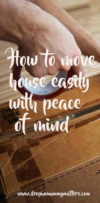 How to move house easily
