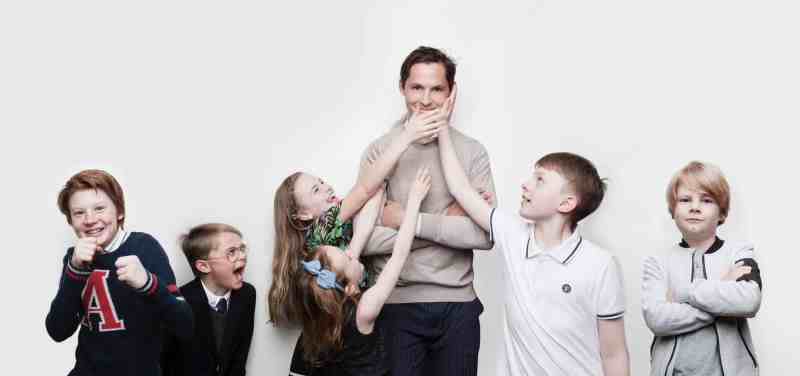 Philip Haglund and Kids