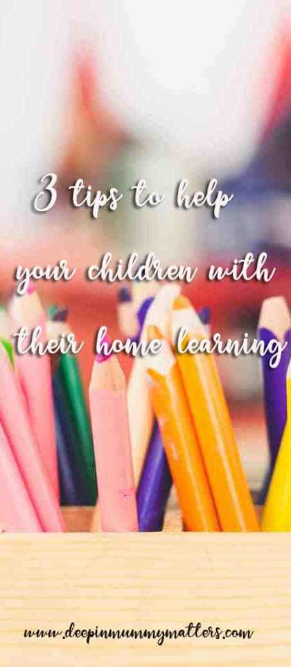 3 tips to help children with their home learning