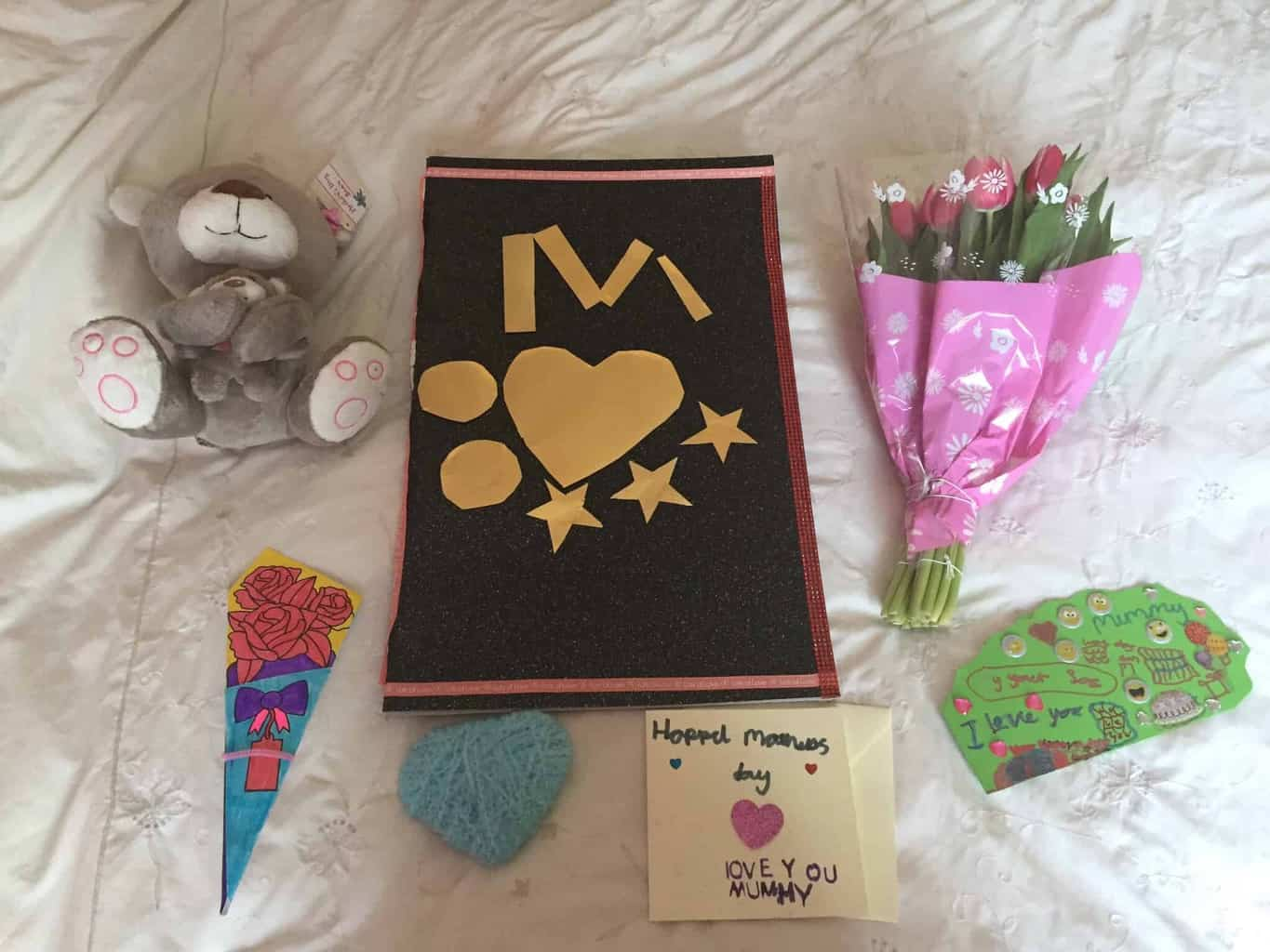 Louisa's first mother's day present from her adopted daughter