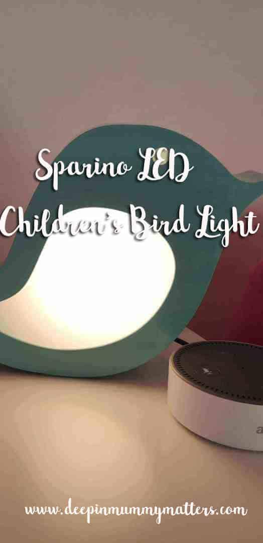 Sparino LED bird light review