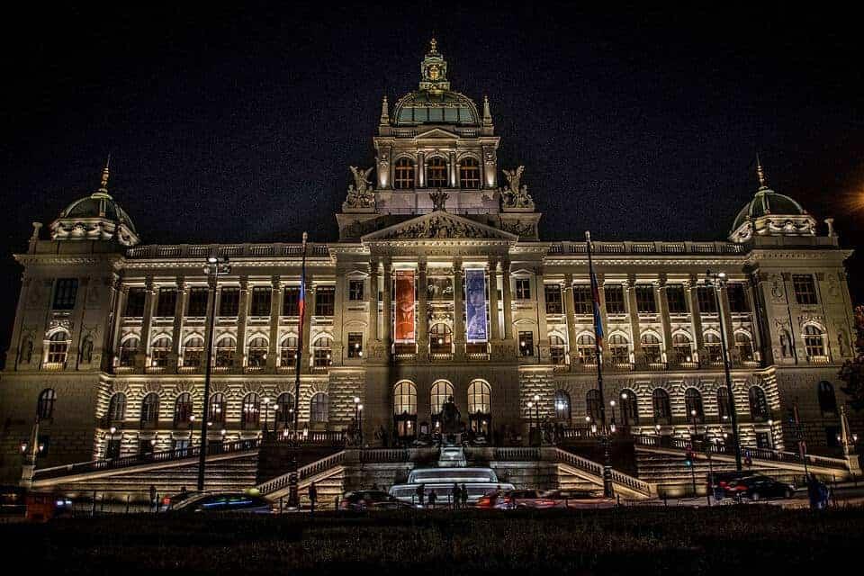 History Building Czechoslovakia Tricolor Museum