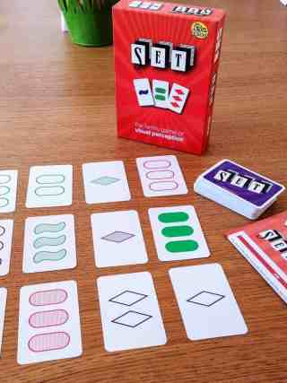 SET - a card game of visual perception