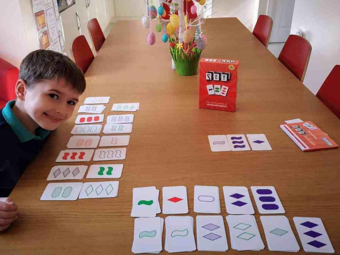 SET - a card game of visual perception
