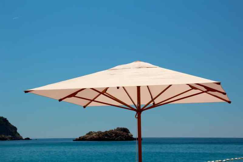 Parasol by the sea