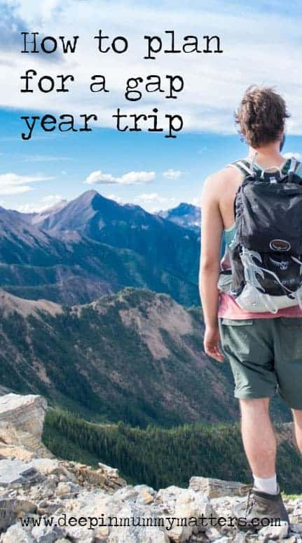 How to plan for a gap year trip 1