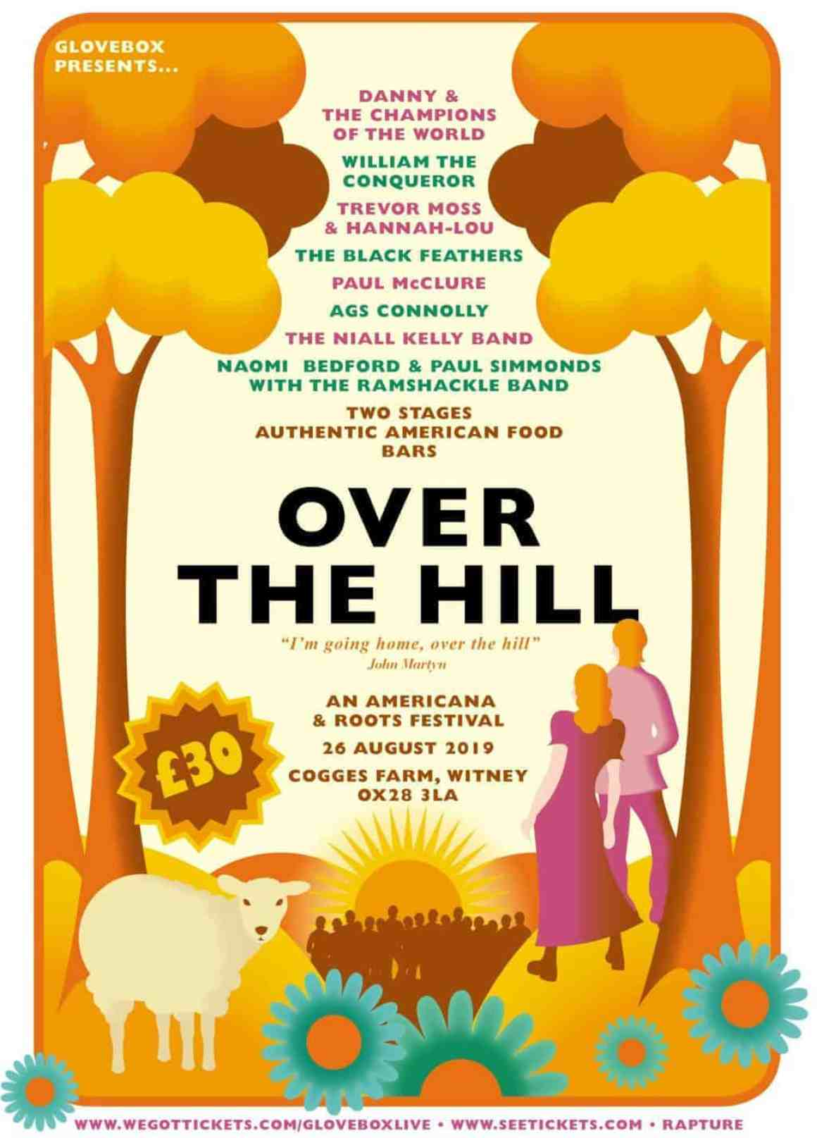 Over the Hill Festival Poster