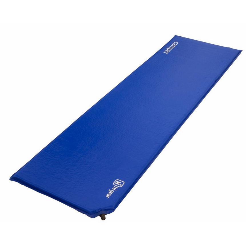 Self-inflating mat