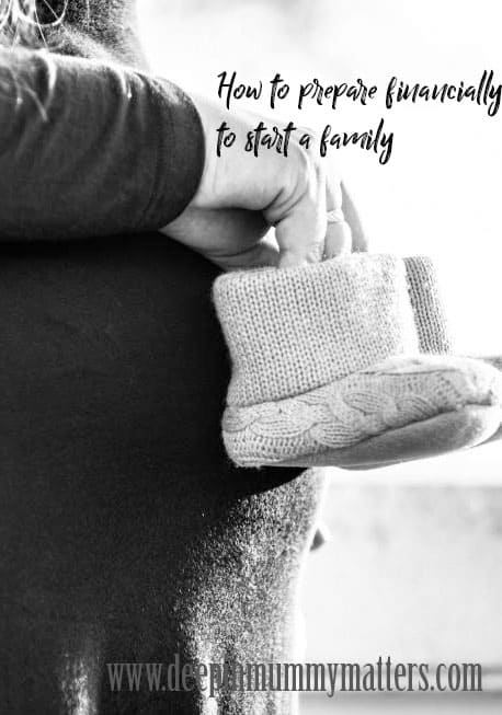 How to prepare financially to start a family
