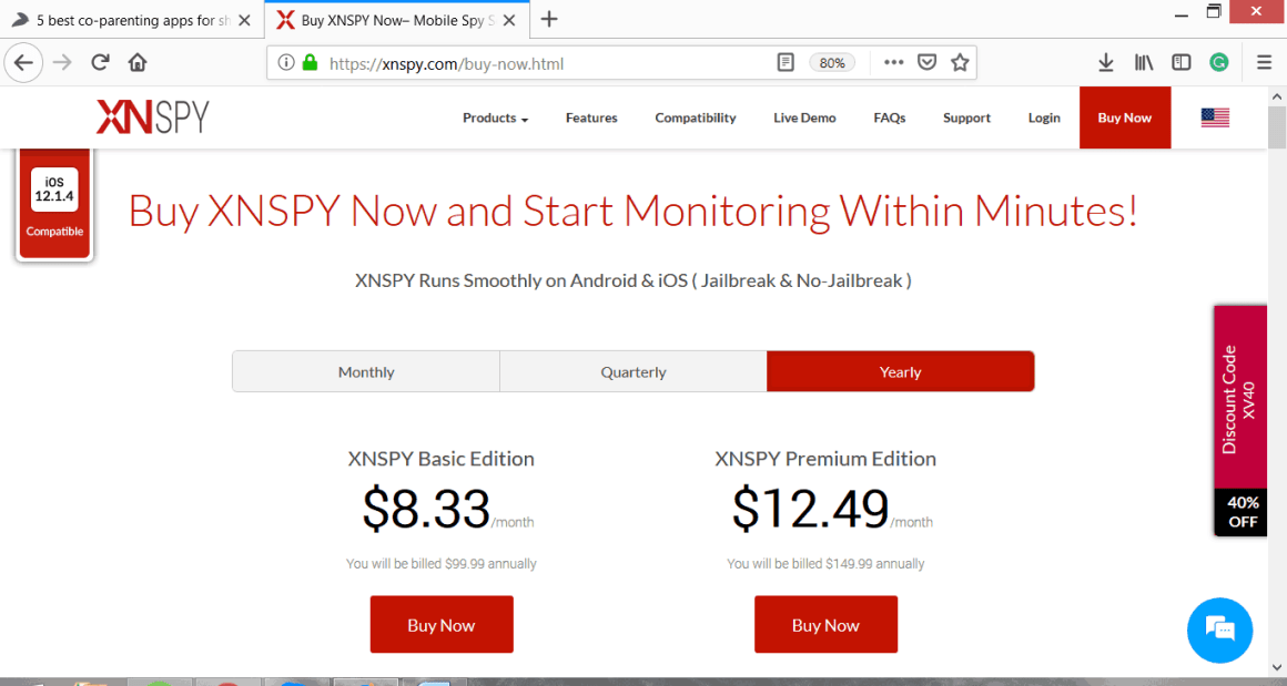 XNSPY Yearly Packages