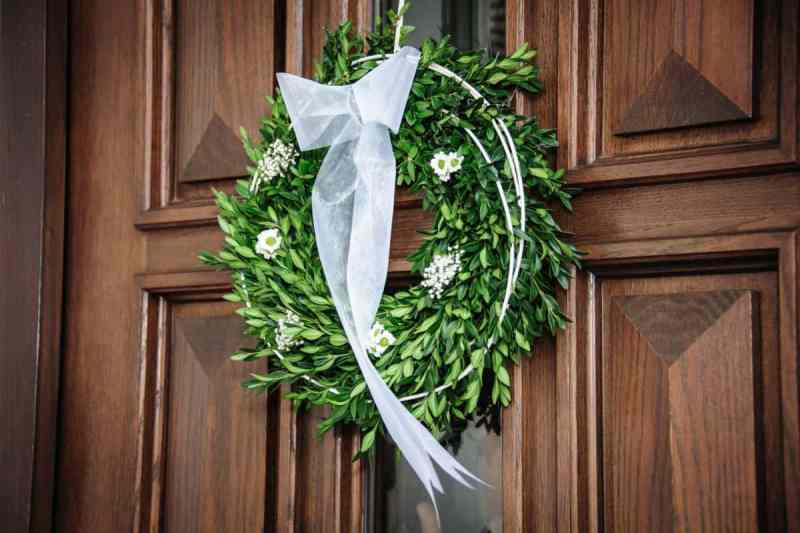 Leaf Wreath