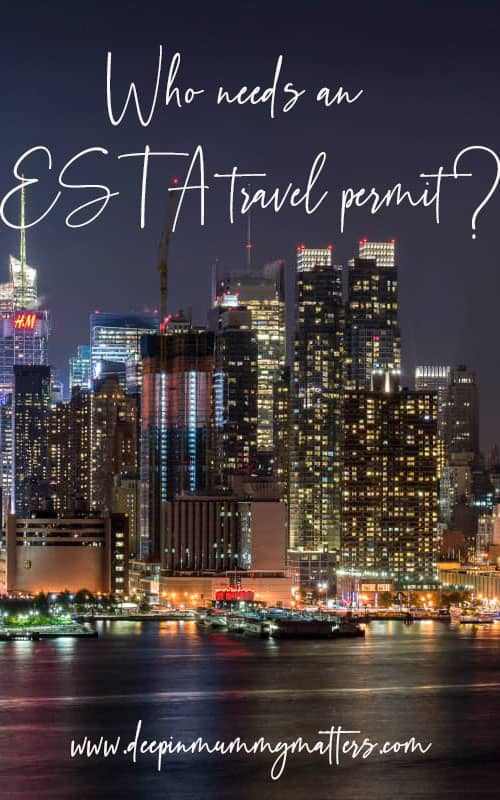 Who needs an ESTA travel permit?
