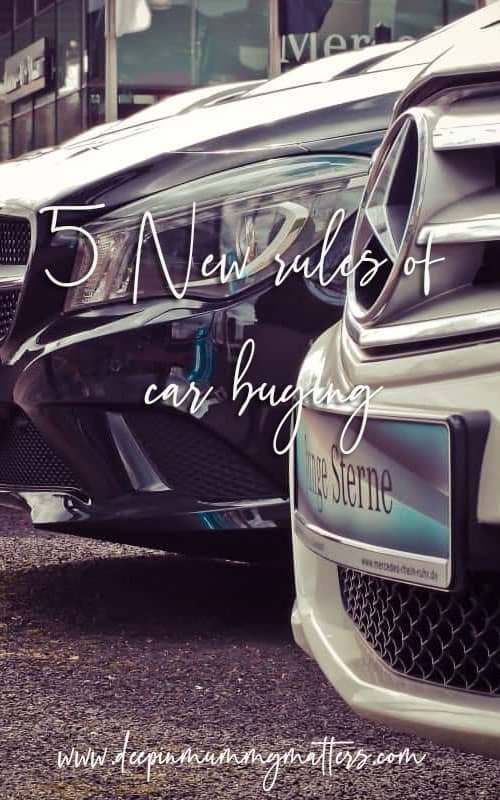 5 New Rules of Car Buying: How to Shop in today's World