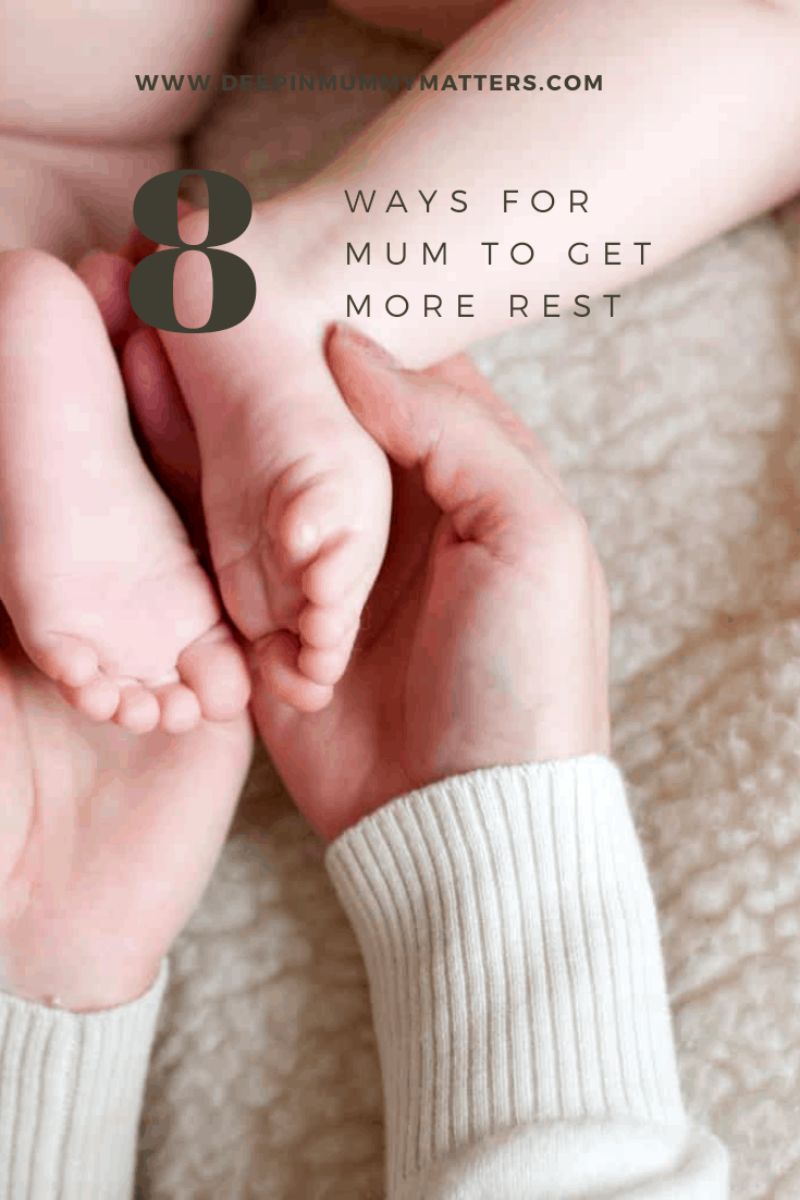 8 ways for Mum to get more rest