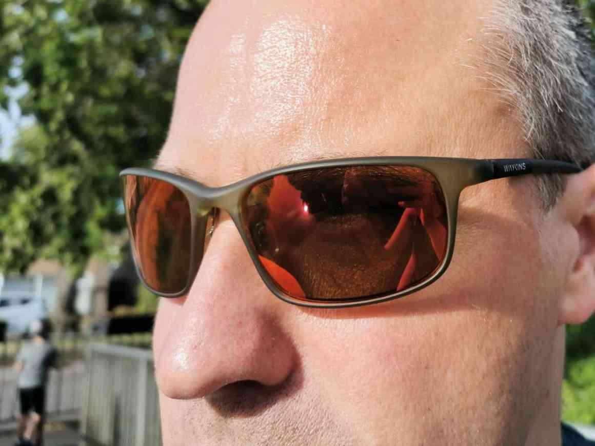 Waykins Green Ombra Sports sunglasses