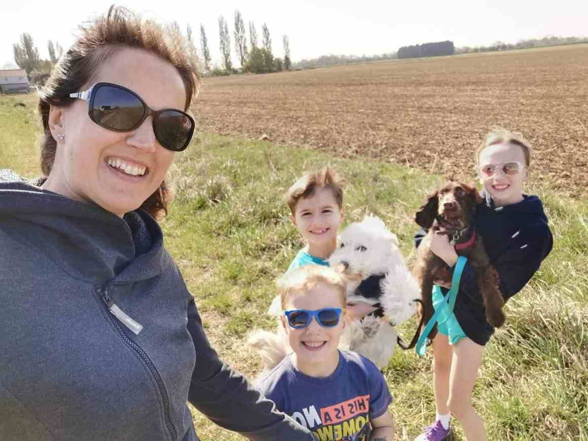 Family walks - Daily Exercise