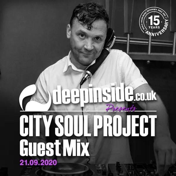 City Soul Project Guest Mix cover