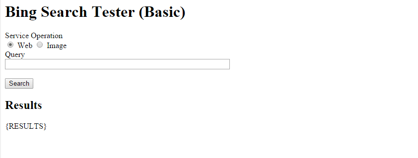 bing basic search before