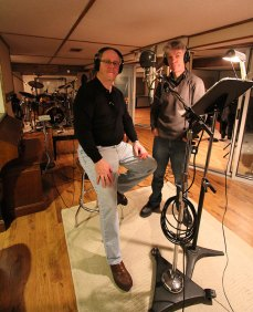 Kevin and Maurice in the Studio