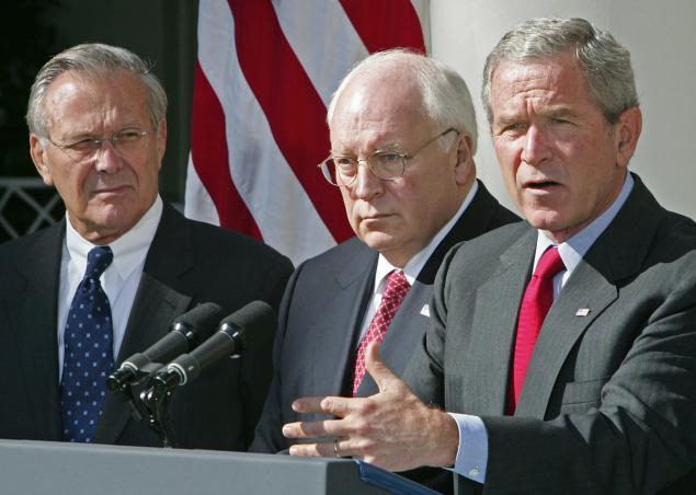 Bush and dick cheney