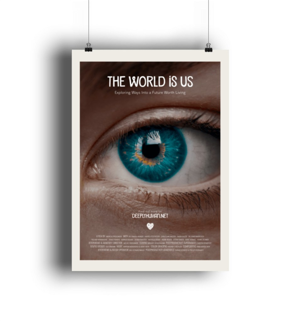 """Filmplakat """"THE WORLD IS US"""" - Poster-6864"""