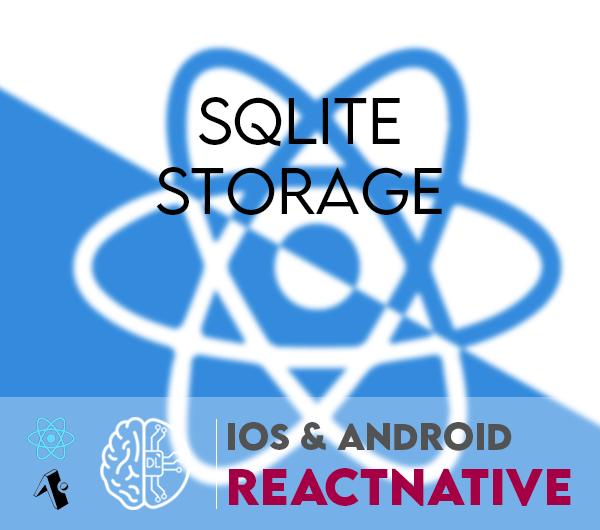 react native expo android ios sqlite
