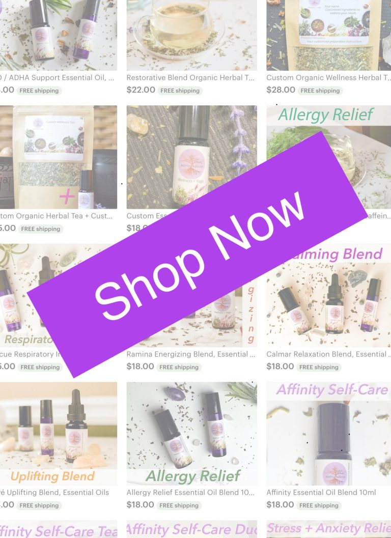 Deeply rooted wellness + yoga etsy