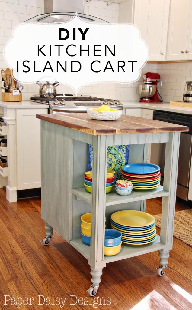 diy kitchen island cart deeply